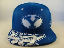 Brigham Young BYU Cougars NCAA Zephyr Snapback Hat Cap Blue