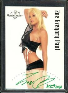 2003 Bench Warmer Zoe Gregory Paul Auto #20