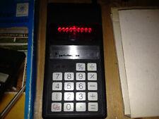 OVP Privileg 85 RED LED Taschenrechner +Etui + Netzteil Calculator vintage 70ies