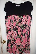 """Beautiful Colored Floral Dress by Madison Leigh """"Size 22W""""  """"Summer Casual"""""""