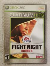 Fight Night Round 3: Platinum Hits Xbox 360 Video Game boxing COMPLETE FREE S/H