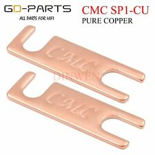 CMC Pure Copper Parallel Connection Plate For HiFi Audio Speaker Binding Post *2