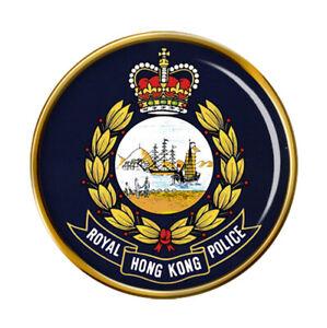 British Hong Kong Police Pin Badge