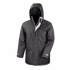 Mens Womens Waterproof Winter Coat Jacket Parka Windproof Hooded 6 Colours S-3XL