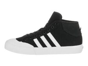 Adidas MATCHCOURT MID Black White Skate Sneakers F37703 (388) Men's Shoes