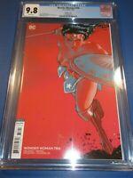 Wonder Woman #756 Great Janin Variant CGC 9.8 NM/M Gorgeous Gem Wow