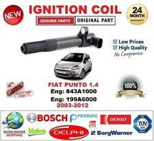 FOR FIAT PUNTO 1.4 843A1000 199A6000 2003-12 SINGLE IGNITION COIL 3PIN CONNECTOR