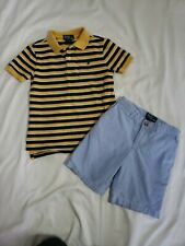 Boys Polo By Ralph Lauren Outfit Sz 5