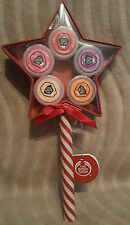 BODY SHOP LIPPY STAR WAND CONTAINS 5 X LIP BALM BRAND NEW