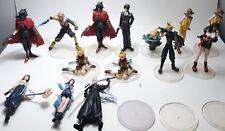 Final Fantasy 7 FF7 FFVIII FFXI FFX  Trading Arts 2 Figurine Mix