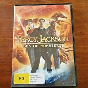 Percy Jackson DVD Sea of Monsters R4 – FREE POST
