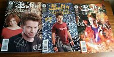 3 Seth Green hand signed Buffy The Vampire OZ comic books - Authentic Autograph