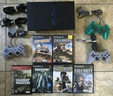 Sony PlayStation 2 PS2 (SCPH-30001) Black Console, bundle Games