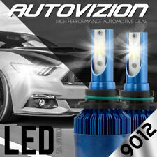 2x 9012 Led Headlight Bulb Conversion Kit for Chrysler 200 300 2011-2015 6000K