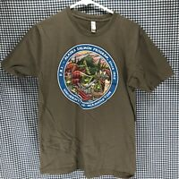 Ray Troll Alaska Salmon Program T-Shirt Men's Size Medium