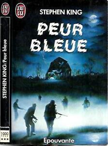 STEPHEN KING--PEUR BLEUE--Edition J'AI LU fantastique