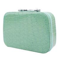 Portable Travel Beauty Cosmetic Makeup Storage Case Box Handbag With Mirror S