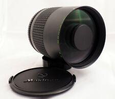 Makinon 500 mm f/8 lens for Canon FD