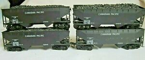 Athearn HO Scale Lot of 4 Canadian Pacific 50 Ton Hopper Cars 5574 - Box
