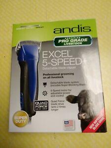 Andis Excel 5-speed+ Detachable Blade Clipper Pro Grade