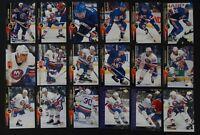 1994-95 Upper Deck UD New York Islanders Team Set 18 Hockey Cards Missing #412