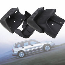 4PCS Black Front&Rear Molded Mud Flaps Splash Guards For Subaru Forester 09-12