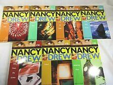 Nancy Drew Girl Detective 9 Book Lot