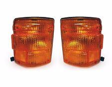 1986-1992 Hino FD FE EF FG Truck Corner Signal Lights Lamps SET- Pair