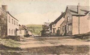 1935 NEWTON POPPLEFORD Post Office & Exeter Inn Sidmouth  Devon  Postcard