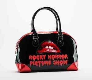 Rocky Horror Picture Show Lips Dr. Frank-N-Furter Goth Punk Handbag Purse