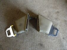 1966 1967 GM Buick Chevy Oldsmobile Pontiac RH & LH Tan Retractor Seat Belts