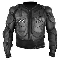 Motocross Dirt Bike Body Armour Jacket Chest Shoulder ATV Motorcycle Protection