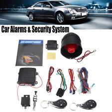 Universal Car Auto Burglar Alarm Security System Vehicle Keyless Entry 2 Remote