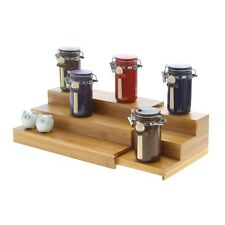 Bamboo Adjustable Spice Rack