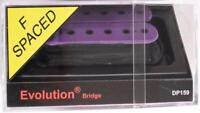 DiMarzio® DP159 Evolution Bridge Humbucker Pickup~Violet~F-Spaced~USA~Brand New