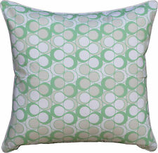 """PATTERNED CUSHION COVER """"NEA MINT"""" 40 X 40 SCATTER, THROW CUSHION COVER"""