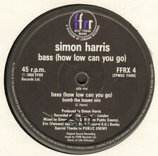 SIMON HARRIS - Bass (How Low Can You Go) (Bomb The House Mix) - FFRR