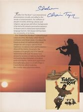 Chaim Topol Fiddler on the Roof SIGNED AUTOGRAPH AFTAL
