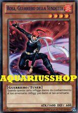 Yu-Gi-Oh Rosa Guerriero della Vendetta DL16-IT005 Rara ITA Rose, Warrior of Reve