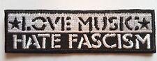 LOVE MUSIC HATE FASCISM PATCH (MBP 051)