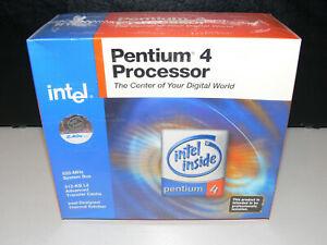 INTEL PENTIUM 4 BX80532PE2400DSL6EF 2,4 GHz Prozessor CPU Sockel 478 Boxed Neu