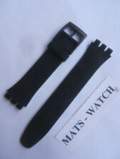 Swatch + Bande en Silicone + NEW GENT + ASUOB 715 Backup Black + NEUF/NEW