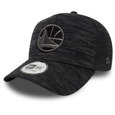 NEW ERA MENS TRUCKER CAP.GOLDEN STATE WARRIORS A FRAME ENGINEERED BASEBALL HAT