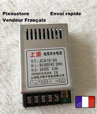 Mini alimentation stabilisée 24Vdc 0.5A neuve Alu 10w