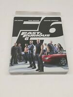 Fast & Furious 6 (Blu-ray + DVD, 2013, 2-Disc Set, Extended Edition Steelbook)