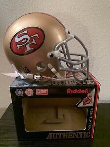 San Francisco 49ers Authenic Ridell Mini Helmet