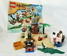 Lego 6241 Pirates Loot Island 3 Minifigs Imperial Soldier Alligator INSTRUCTIONS