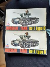 TWO RUSSIAN KV-1 TANK KITS ESCI 1/72 SCALE UNMADE JOB LOT
