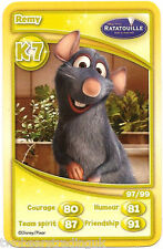 Morrisons Disney Trading Cards 2012: Remy from Ratatouille (K7)