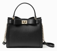 Kate Spade Crossbody MAYFAIR DRIVE MINI TULLIE Bow Satchel ~Black~ NWT $329